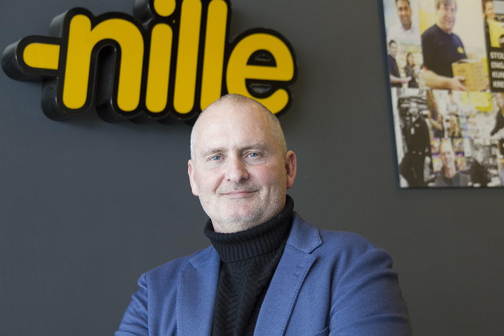 Rune Martin Gundersen, logistikksjef i Nille